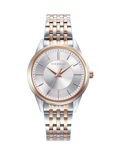Reloj Acero Caballero Colección Grand Viceroy