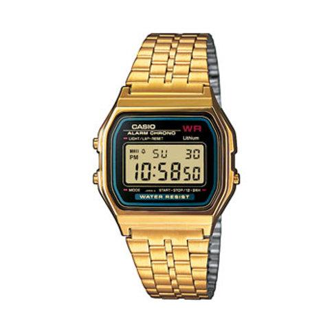 Reloj Casio Dorado y negro