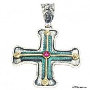 Colgante Cruz Etrusca