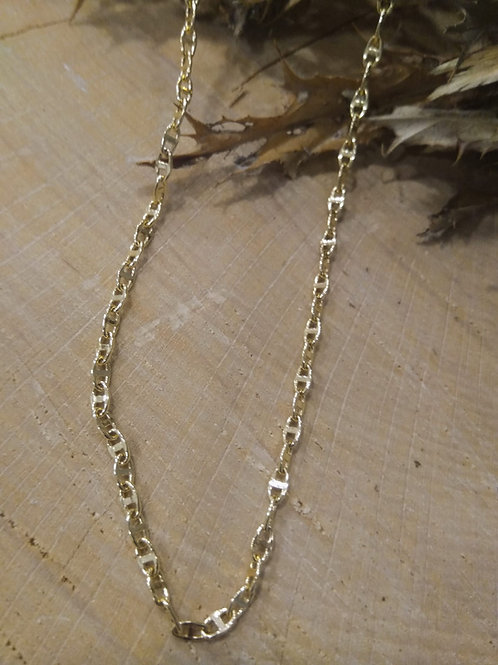 Cadena Oro 1ª Ley 50cm