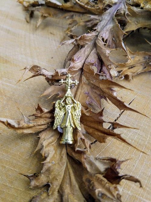 Colgante San Miguel de Aralar en Oro 1ª ley