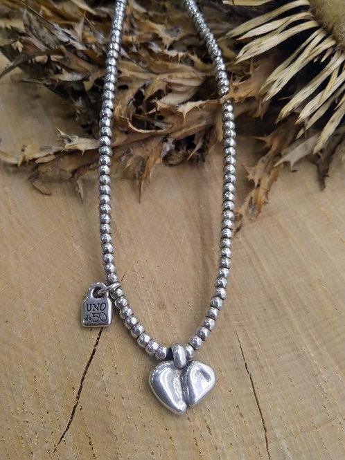 Collar Corazón Uno de 50
