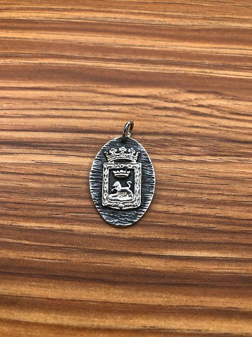 Colgante Medalla con el Escudo de Pamplona