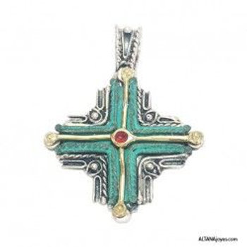 Cruz Etrusca Plata