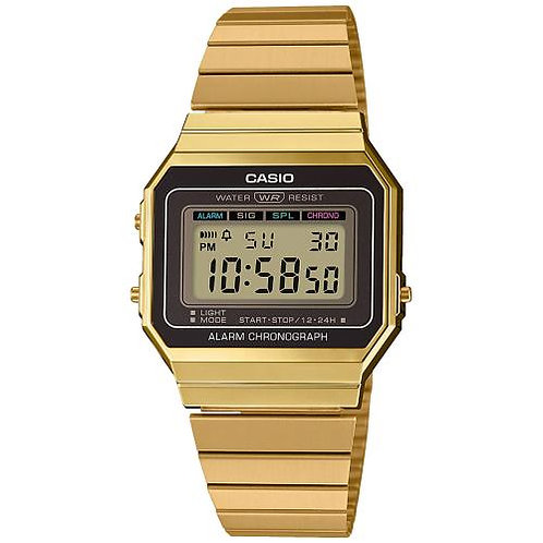 Reloj Casio Digital Dorado