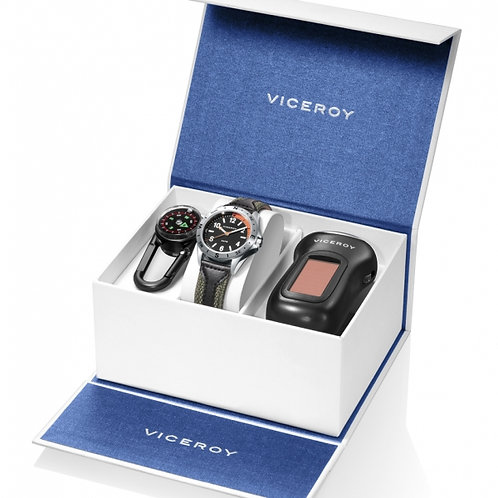 Reloj Viceroy , linterna solar y Brújula