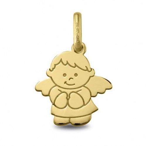 Colgante Angel en Oro de ley