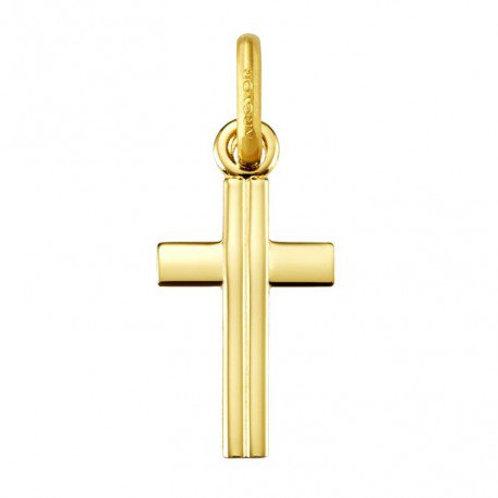 Colgante Cruz en oro de ley