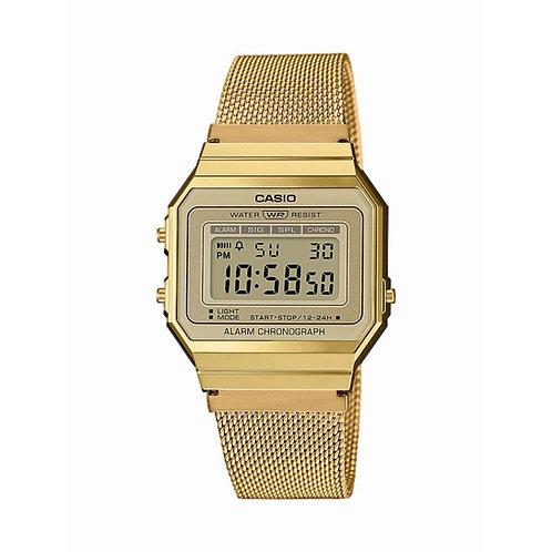 Reloj digital Casio Dorado