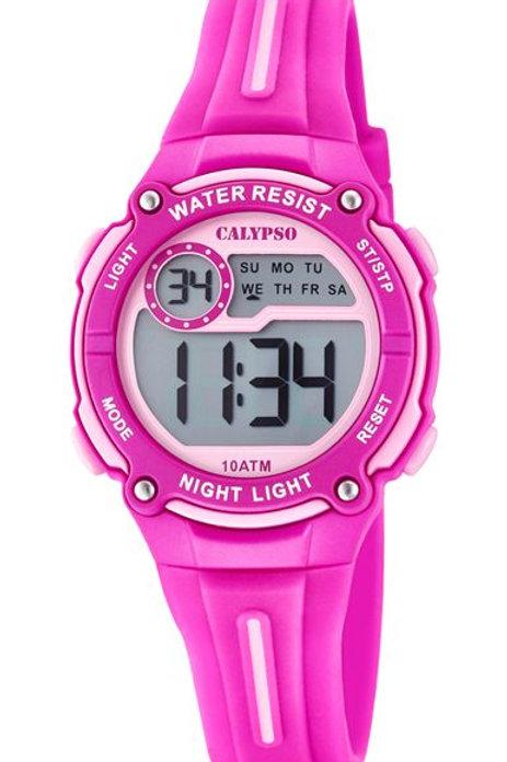 Reloj Calypso Rosas digital