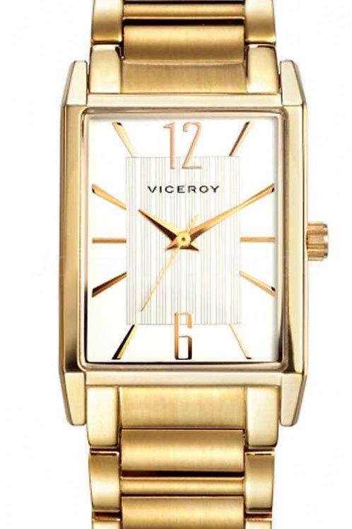 Reloj Viceroy señora chapado en Oro.
