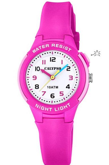 Reloj Calypso Rosa analógico