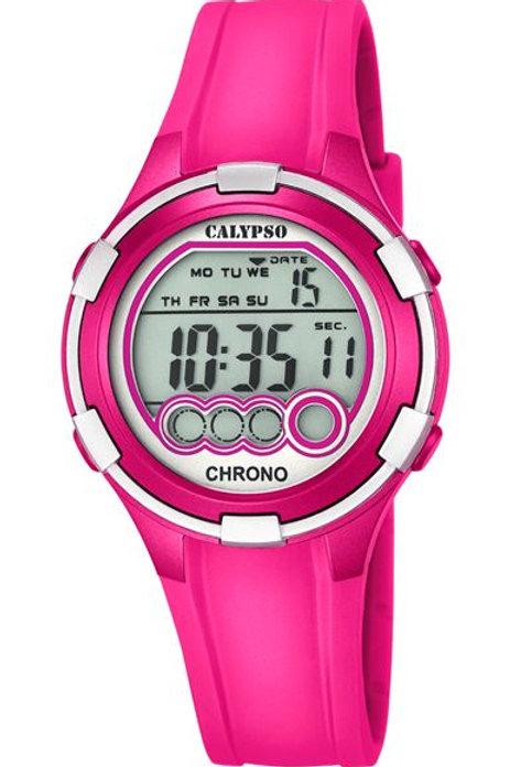 Reloj Calypso Rosa digital