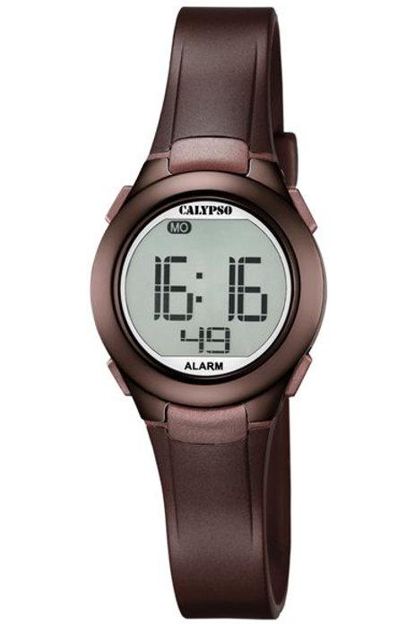 Reloj Calypso Marron digital