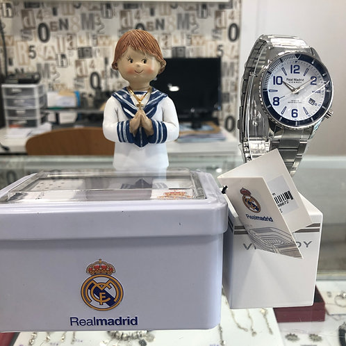 Reloj del Real Madrid