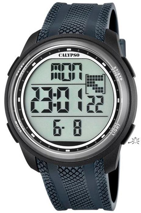 Reloj Calypso Negro digital