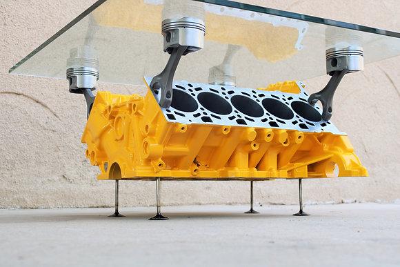 Lamborghini Gallardo Engine Block Coffee Table - V10 Lambo Motor!