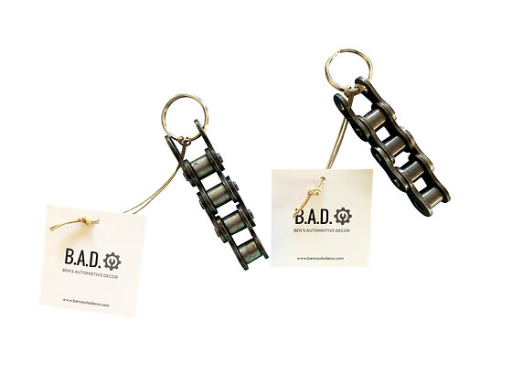 Motorcycle Chain Key Chain