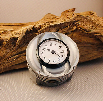 Piston Desk Clock