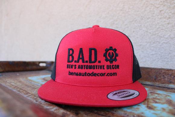 B.A.D. Trucker Style Cap