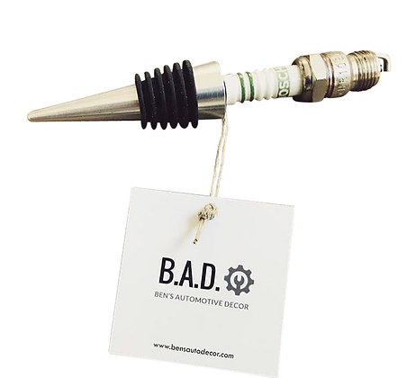 Spark Plug Wine Bottle Stopper