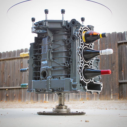 Porsche Engine Wine Rack - Boxer Motor Repurposed into Wine Storage Table