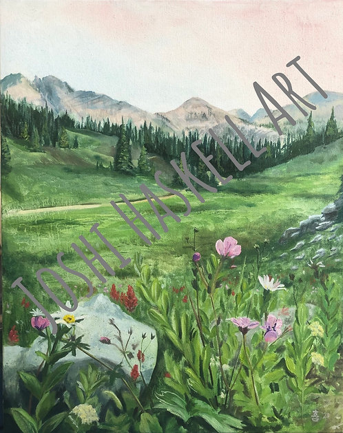 """Catherine's Pass - Oil on Canvas - 16""""x20"""""""