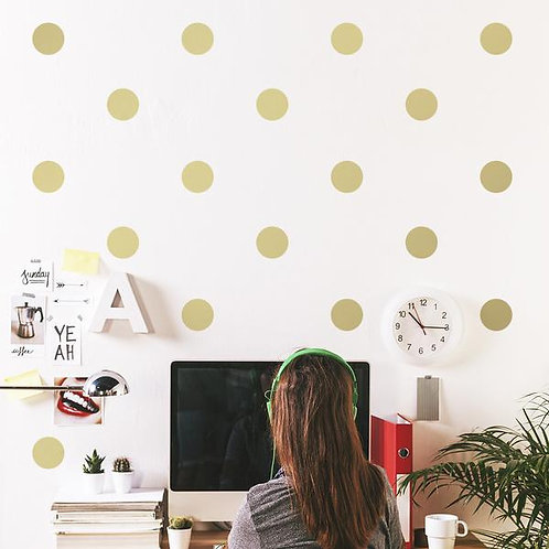 Gold Pattern Wall Decals