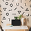 Thumbnail: Black Print Wall Decals