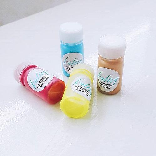 Set: Kulay Liquid Watercolor (10 bottles)