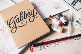 creatity kits lettering calligraphy manila calligraphyph handlettering bujo bullet journaling crafts diy handwriting creative