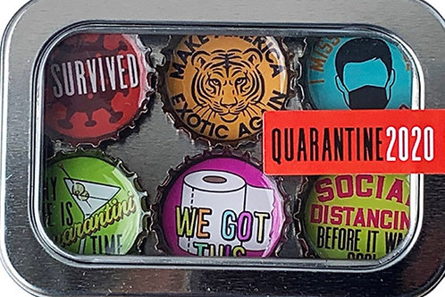 Quarantine 2020 Magnet Set