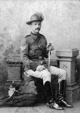Sergeant-Major Breydon, QMI Toowoomba