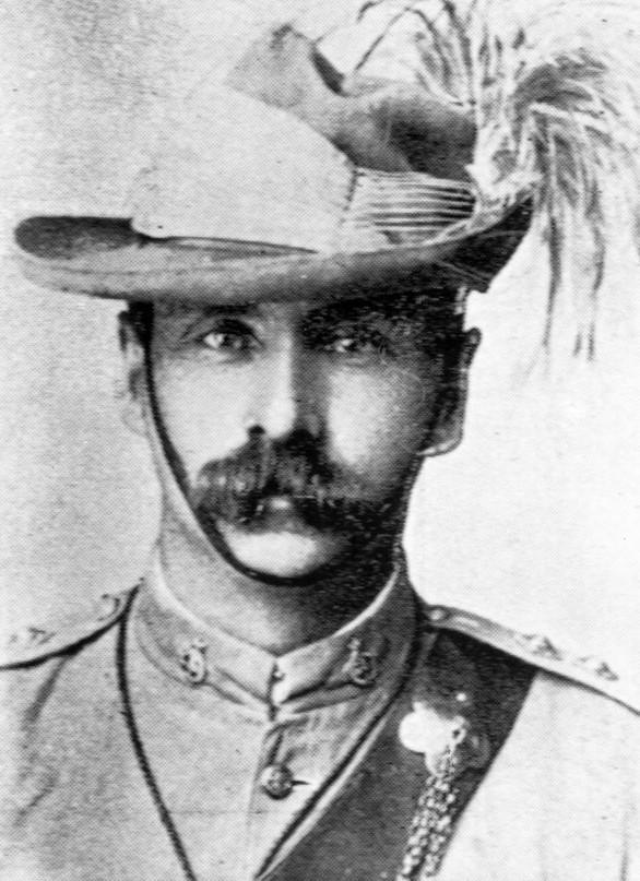 Officer, Queensland Mounted Infantry