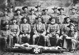 Maryborough Section, Army Medical Corps, 1901
