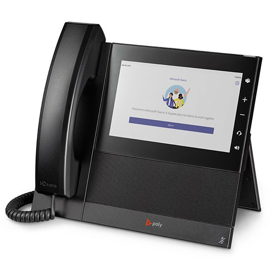 Poly CCX 600 Phone, Teams/SFB, PoE