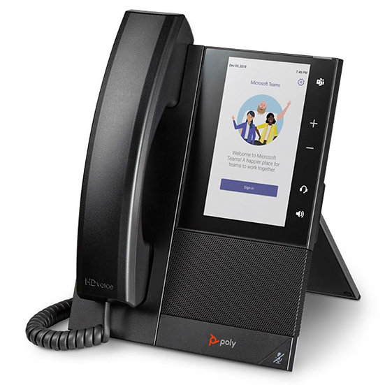 Poly CCX 500 Phone, Teams/SFB, PoE