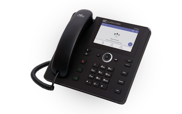 AudioCodes Teams C448HD IP-Phone PoE (without PSU)