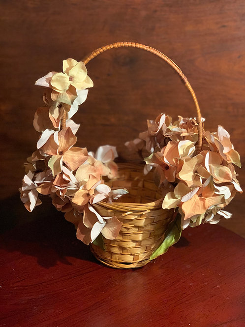 Rustic Flower Girl Basket