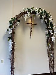 arbor with lighted cross.jpg