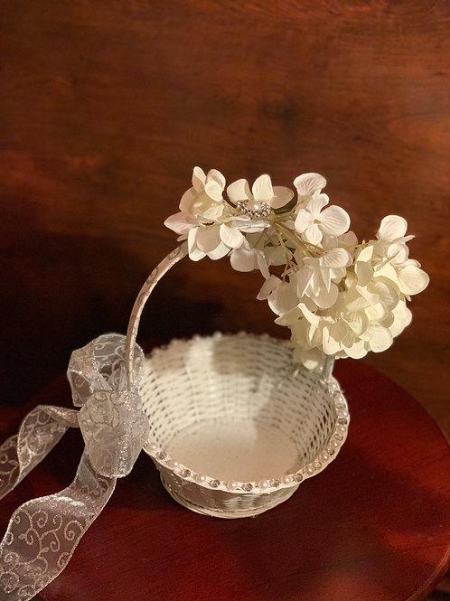 Glam Flower Girl Basket