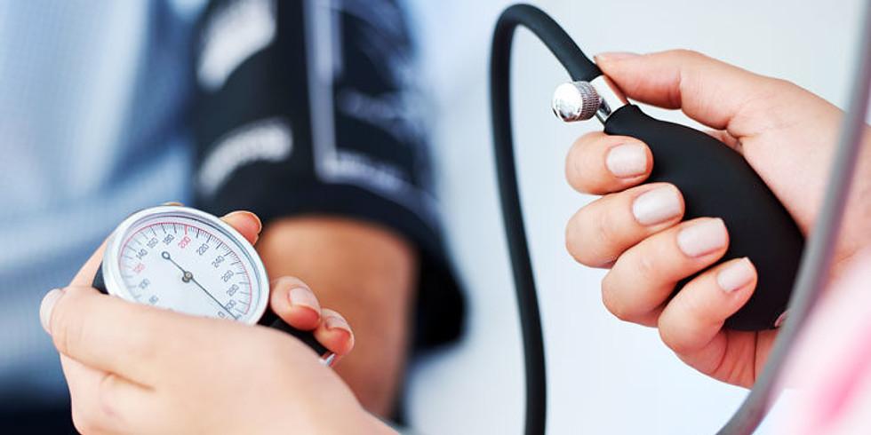 FREE BLOOD PRESSURE CLINIC