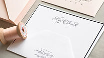 Stationery calligraphy