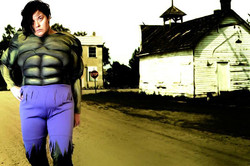 Self portrait as Hulk- Unity SK 2