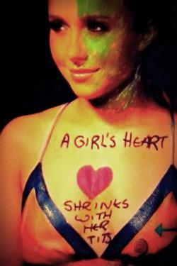 A girl's heart shrinks