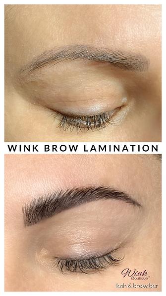 Wink Brow Lamination