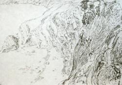 Crozon 1-Encre sur papier (43x62cm)2016.