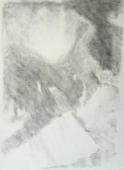 Fusain sur papier(42x29cm)2017