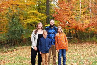 Fall Mini Family Session | Manitowoc Family Photographer