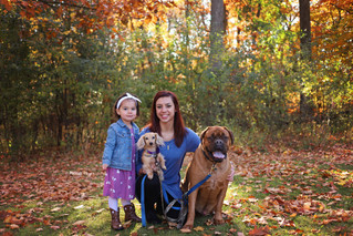 Fall Mini Session, with pets! | Manitowoc Family Photographer